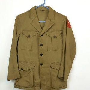 VTG 1920s Eisner Boy Scouts Leader Norfolk Jacket